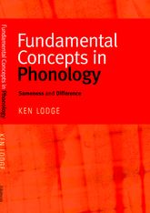 Fundamental Concepts in Phonology: Sameness and Difference