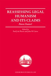 Reassessing Legal Humanism and its ClaimsPetere Fontes?